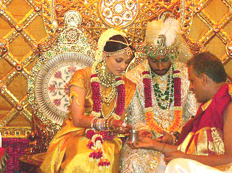 Abhishek and Aishwarya Wedding