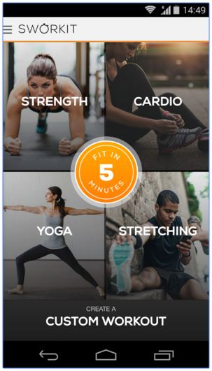 Sworkit Exercise App