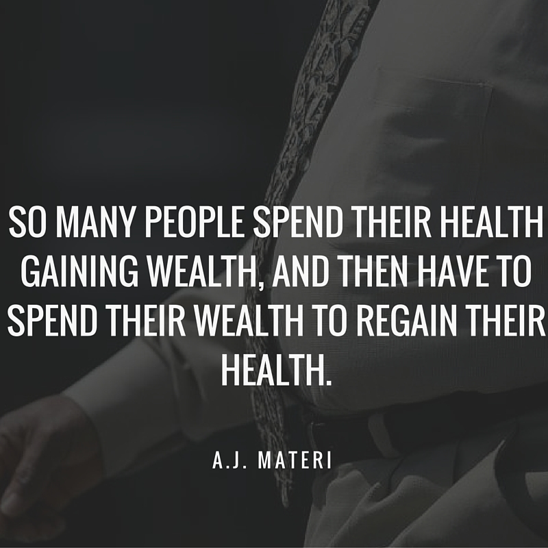 Spend Wealth for Health