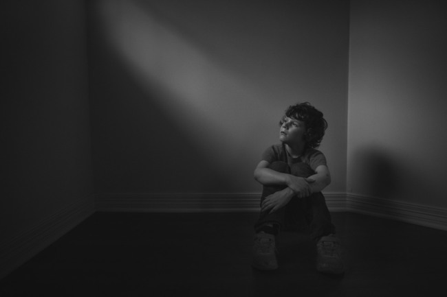 Pain caresses in dark