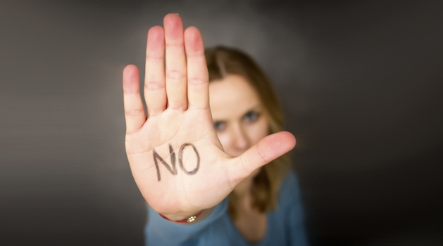 It is okay to say NO