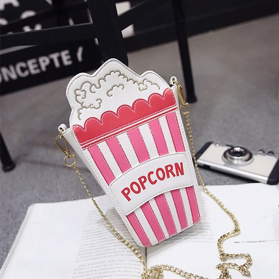 5 popcorn shaped bag fashion