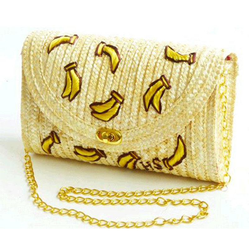 8 bananas shaped handbag