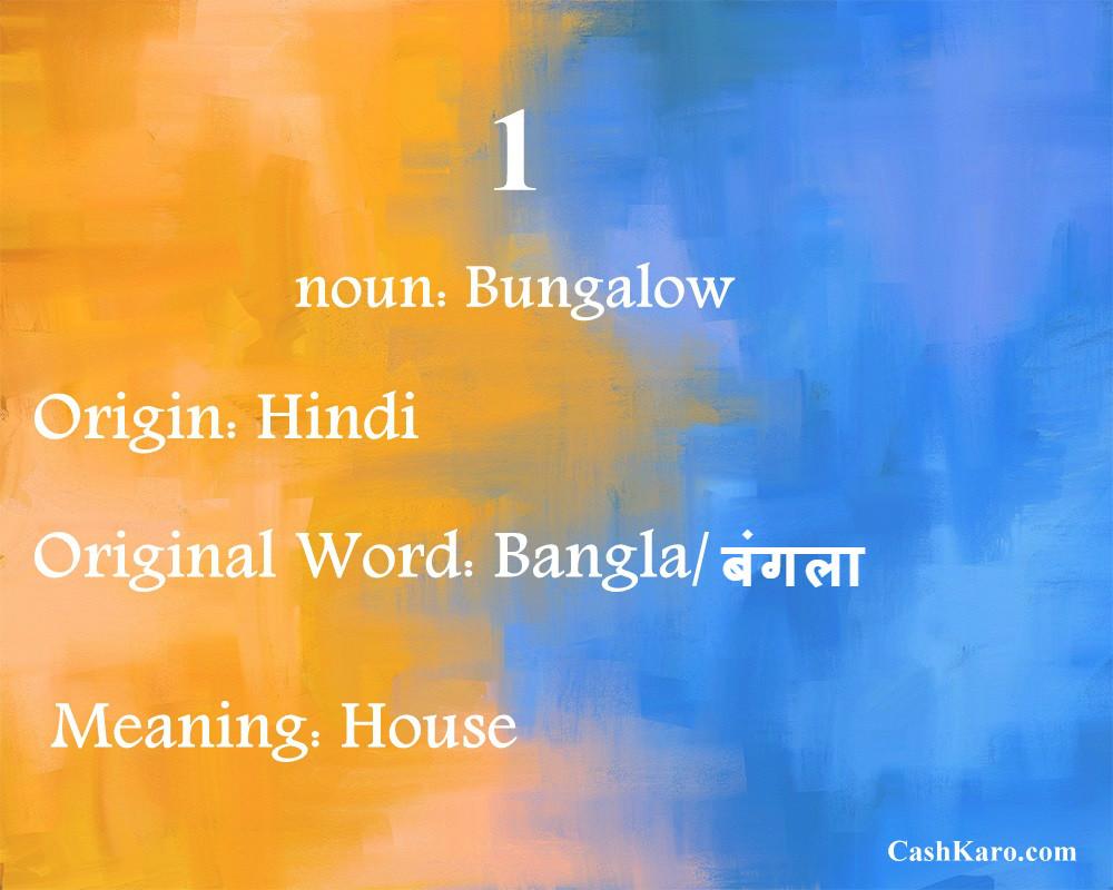 english word hindi 1