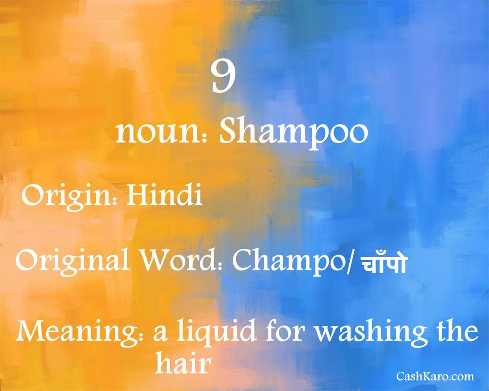 english word hindi 9