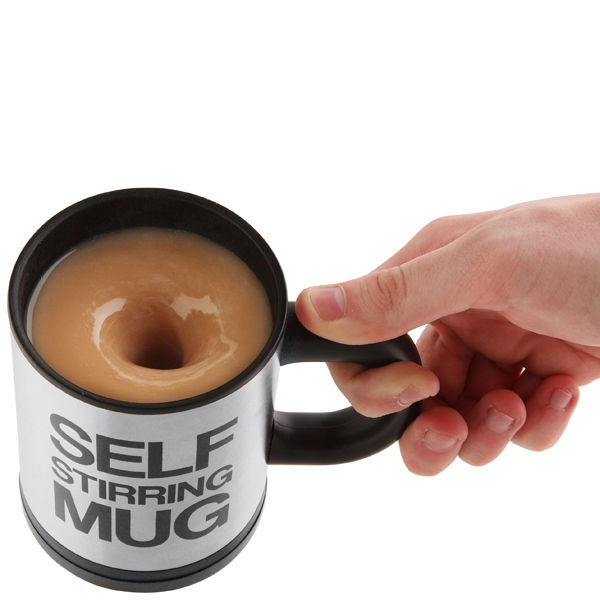 3 self-stirring mug