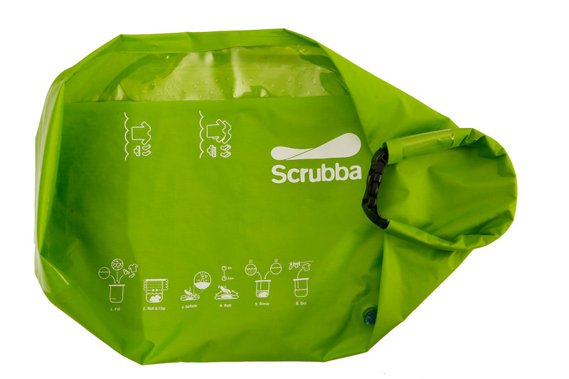 4 scrubba washing bag