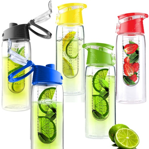 9 Fruit infused water bottle