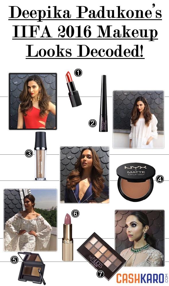Deepika Padukone IIFA 2016 makeup decoded