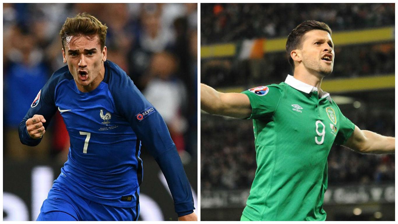 France Vs Ireland Euro