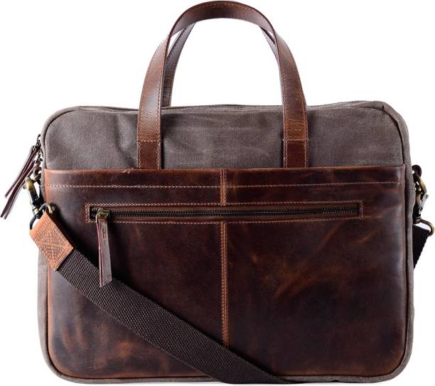 Gauge Machine Leather Bag for father's day