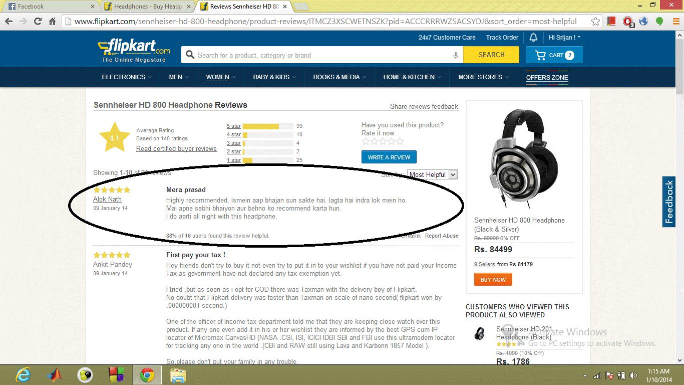 Flipkart Hilarious Headphones Review