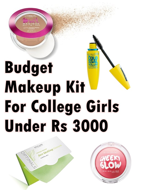 budget makeup kit for college girls under Rs 3000