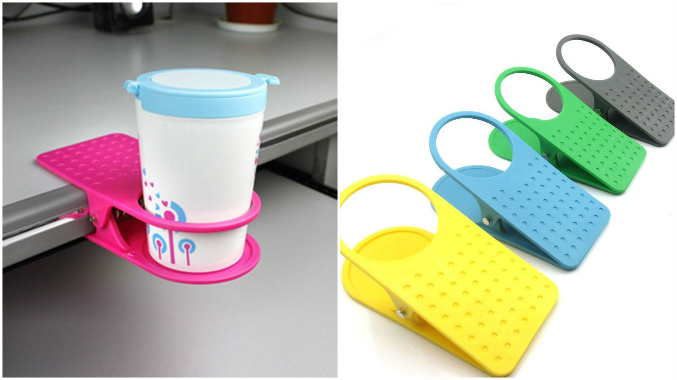 clip cup holder