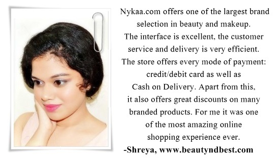 nykaa blogger review