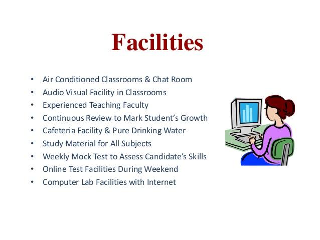 coaching institute facilities