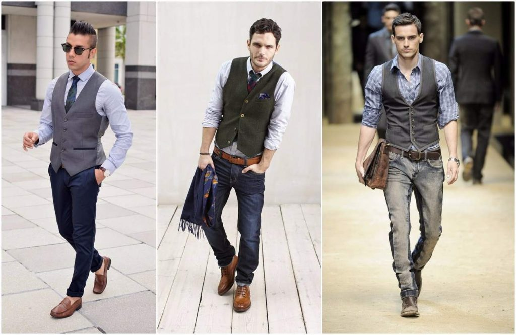 party outfit idea for guys - waistcoat men trends