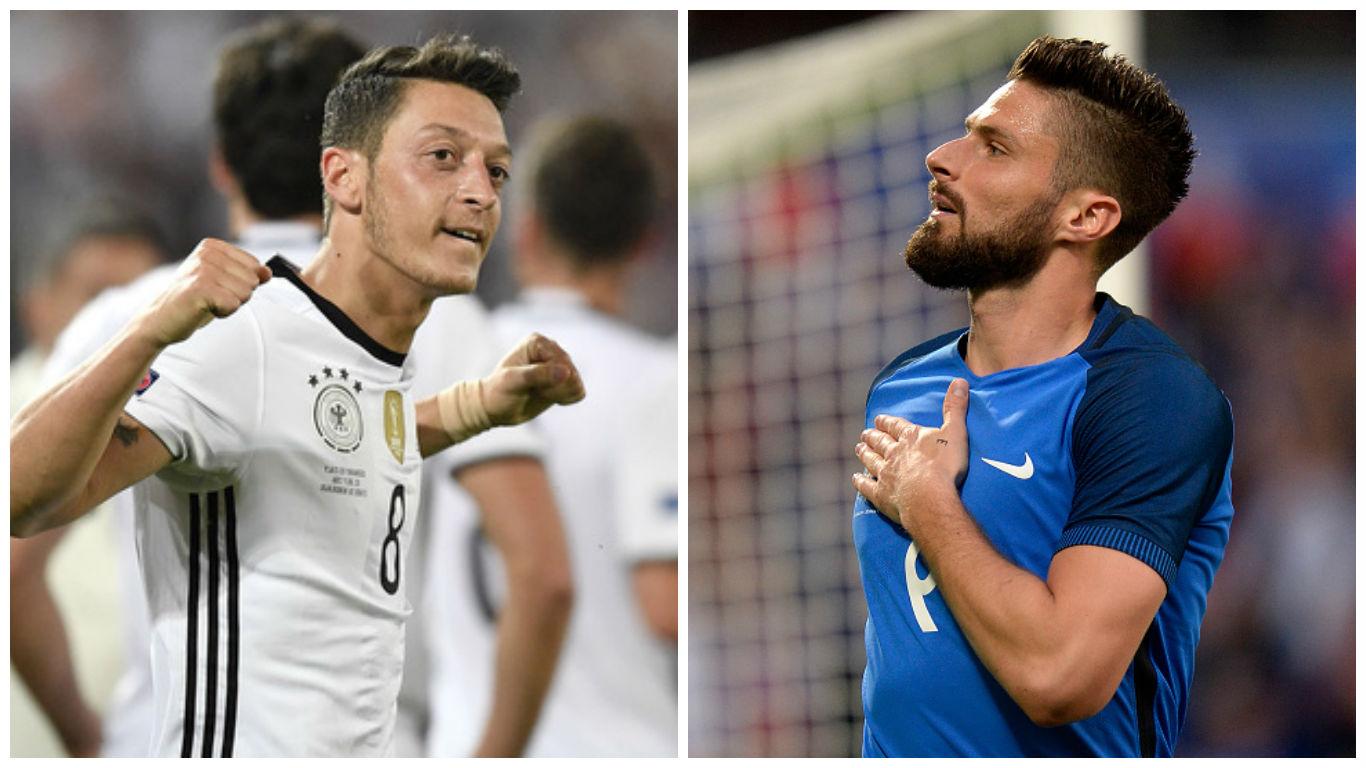Germany Vs France Euro 2016