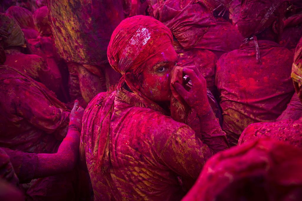 Mathura Holi