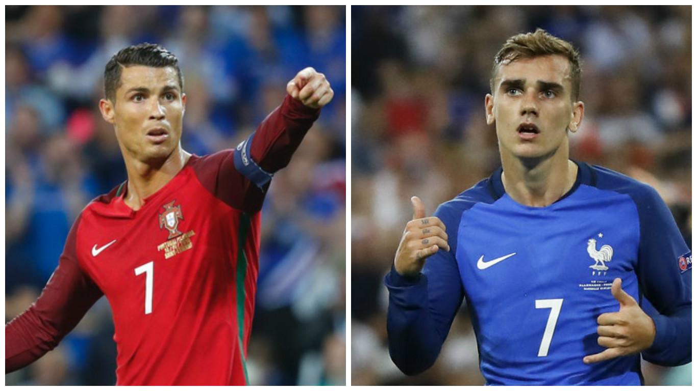 Ronaldo Vs Griezmann