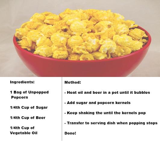 beer popcorn