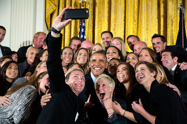 Obama Selfie
