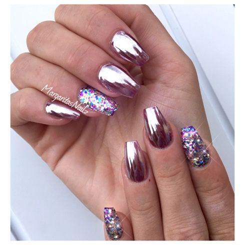 6- mirror nails