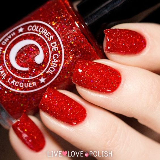 8-red nails