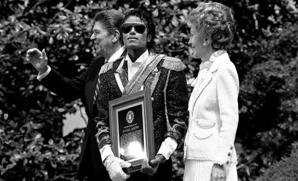 Michael Jackson Ronald Reagan