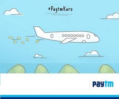 Paytm Flights Offer