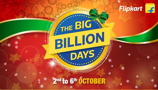 Flipkart Big Billion Days 2016