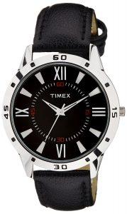 Timex Analog Black Dial Men's Watch- TW002E114