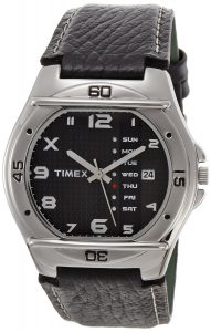 Timex Fashion Analog Black Dial Men's Watch- EL03