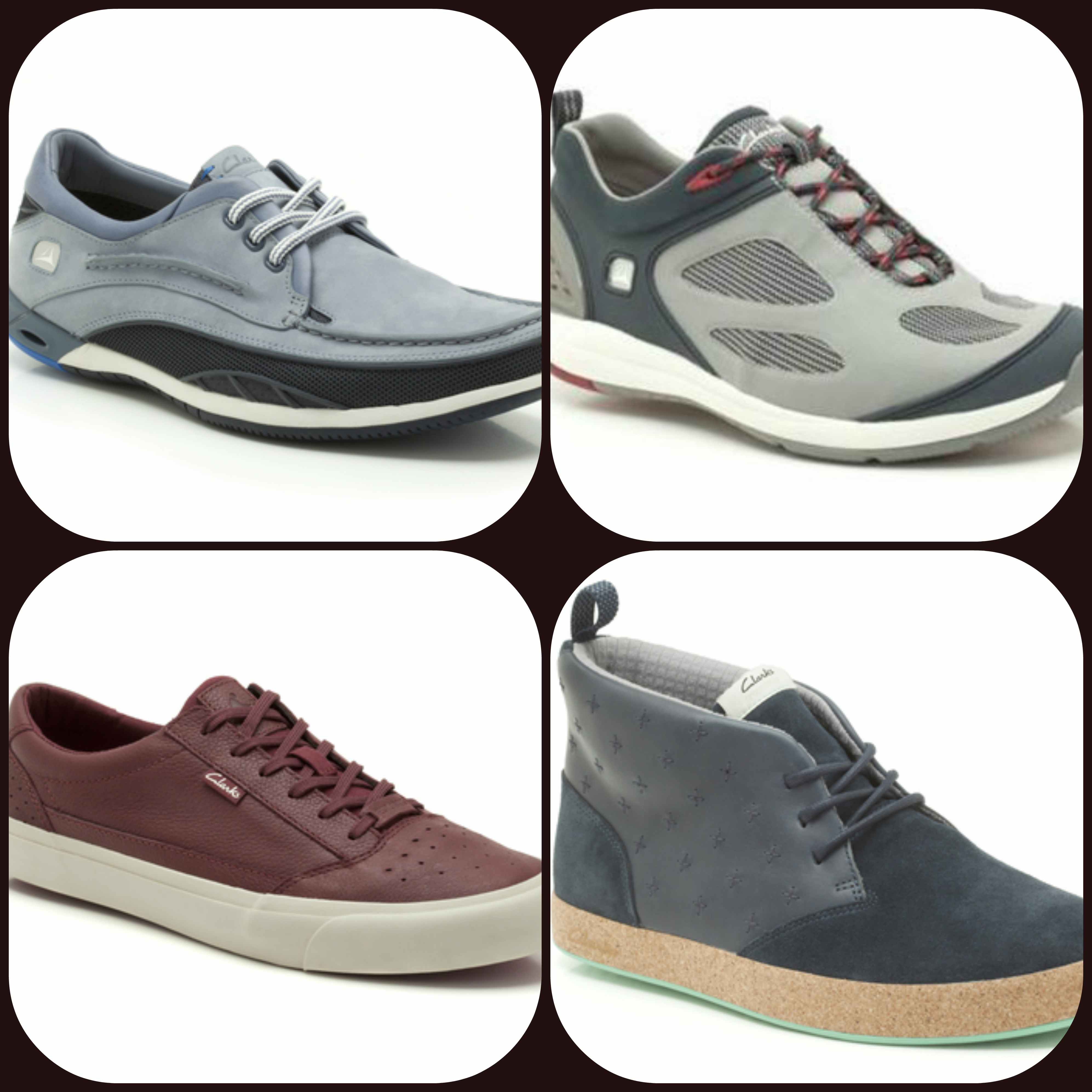 Clarks Active Leisure Collection
