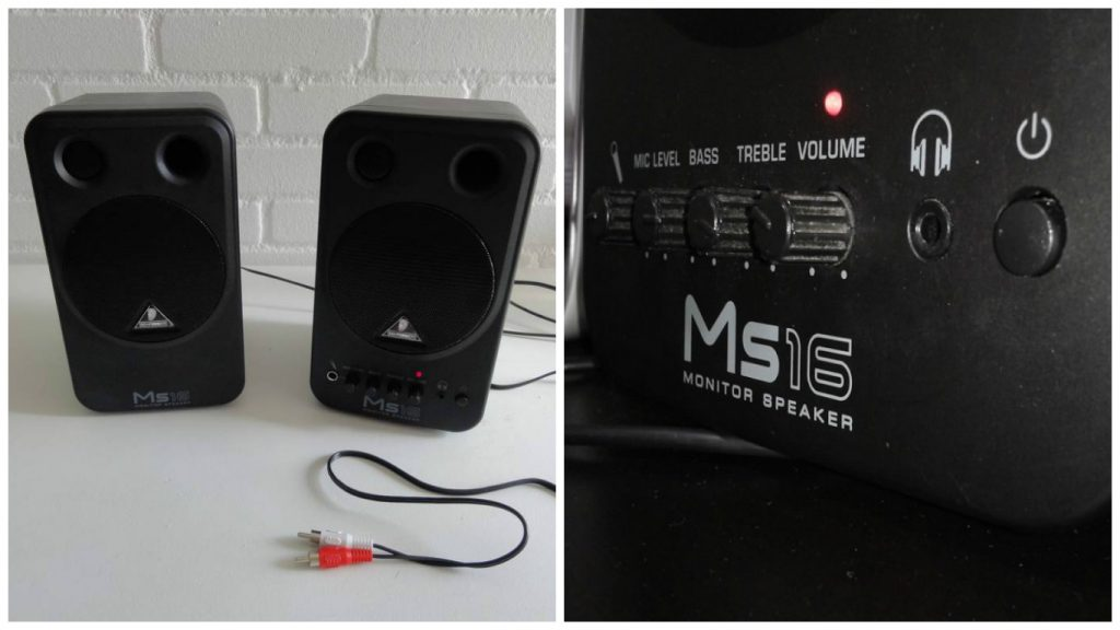 Behringer MS16 Multimedia Speakers