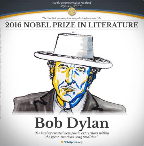 Nobel Prize Literature 2016