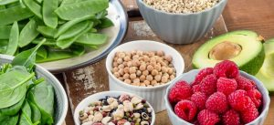 fiber and greens in diet