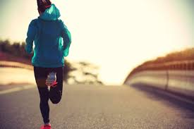 mom running