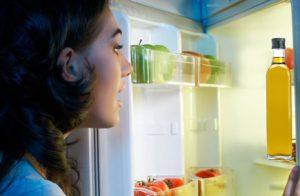 olive oil preserved in fridge