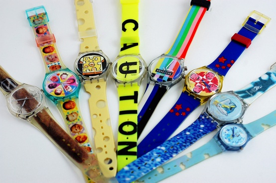 swatch vintage watches