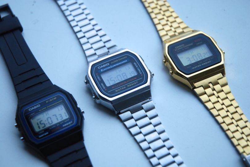 Casio 90s watches