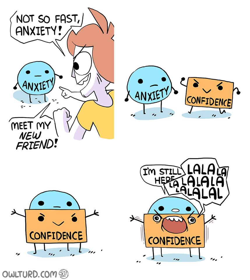 Kill anxiety