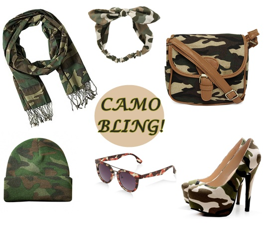 camo-bling