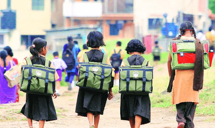 Rectangular School Bags