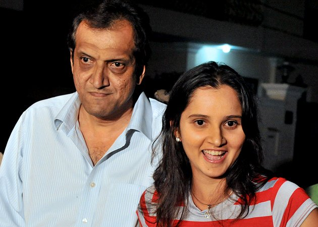 Sania Mirza Father