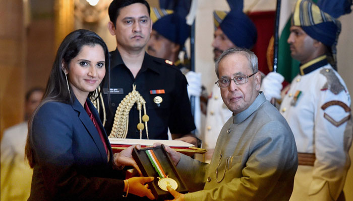 Sania Mirza Khel Ratna