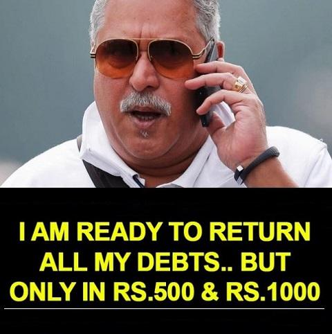 Vijay Mallya Black Money