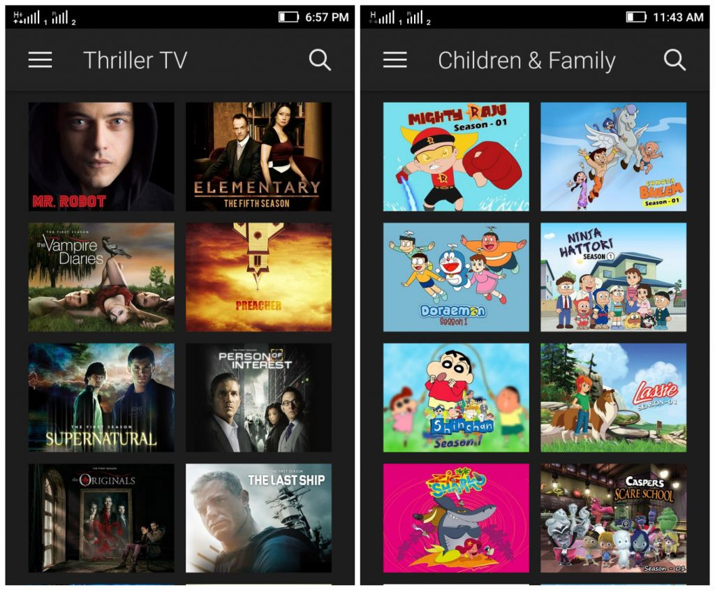 Amazon Prime TV Shows