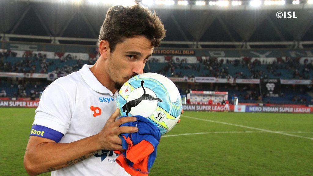 Marcelinho ISL Hat-trick