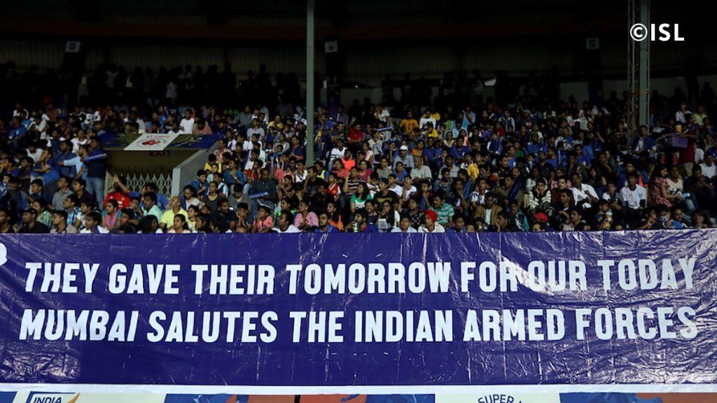 Mumbai FC Army Tribute